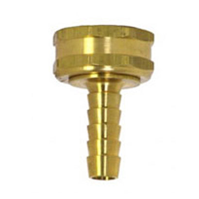 Industrial Grade Brass Female Garden Hose Fitting for 3/4 inch hose - Factory Direct Hose
