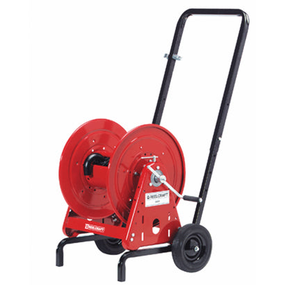 Water Hose Reel Cart - 5/8 x 200 ft Capacity - Made in USA - Factory Direct Hose