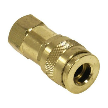 1/4 Female Air Coupler x 1/4 FPT (Automotive Style)