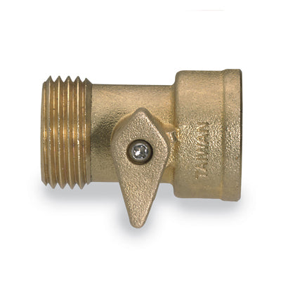 Brass Garden Hose Valve (shut-off style) - Factory Direct Hose