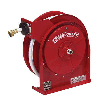 "Drinking Water Hose Reel - 1/2"" x 35' by Reelcraft - Made in USA - Factory Direct Hose"