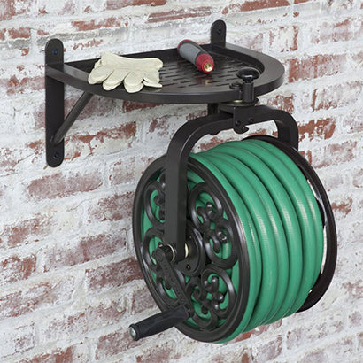 Navigator Rotating Hose Reel - 5/8 x 125 ft Capacity - Factory Direct Hose