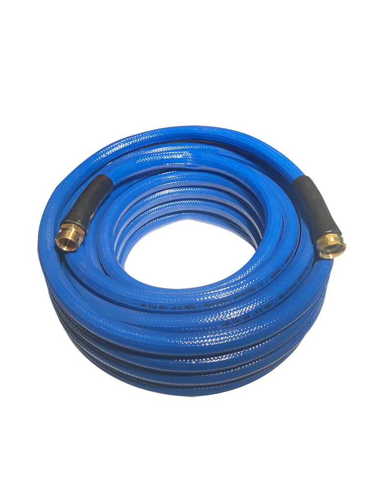 Premium Lightweight Polyurethane Garden Hose  by Industrial Choice - 5/8 X 100 ft - Drinking Safe - Factory Direct Hose