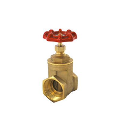 "Industrial Grade 1"" Brass Gate Valve - Factory Direct Hose"