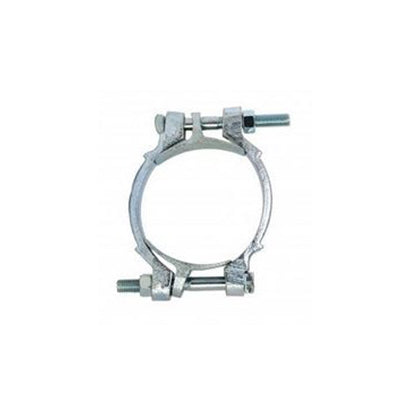 "9"" Double Bolt Hose Clamp - 8 15/16"" to 9 7/8"" - Factory Direct Hose"
