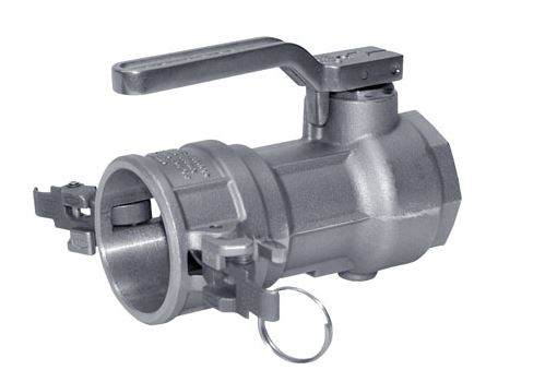 "3"" Stainless Steel Dry Break Coupling Valve - Factory Direct Hose"