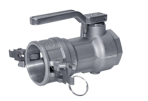 "1.5"" Stainless Steel Dry Break Coupling Valve - Factory Direct Hose"