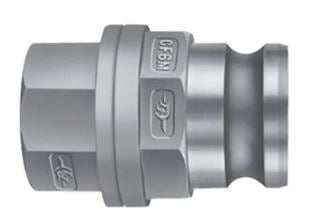 "1.5"" Stainless Steel Male Dry Break Coupling - Factory Direct Hose"