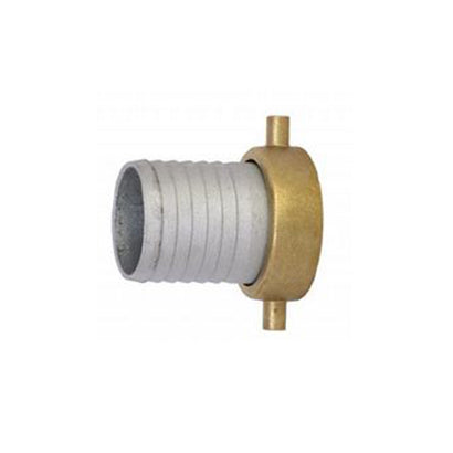 "Straight Thread Female 2 Inch Pipe Fitting x 2"" Hose Shank - NPSH - Factory Direct Hose"