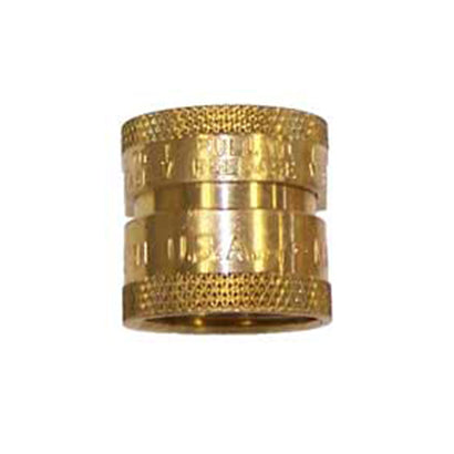 Female Brass Quick Connect - Garden Hose Thread - Factory Direct Hose