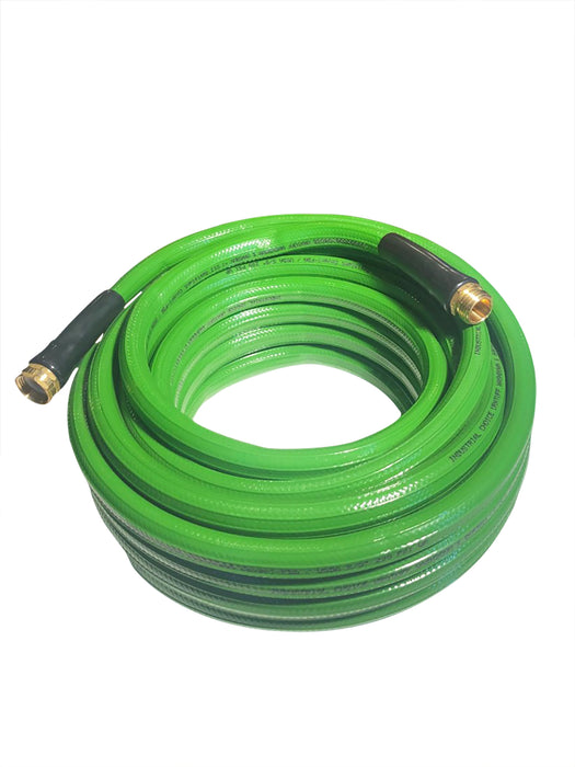 Premium Lightweight Polyurethane Garden Hose by Industrial Choice - 3/4 X 75 ft - Drinking Safe - Factory Direct Hose