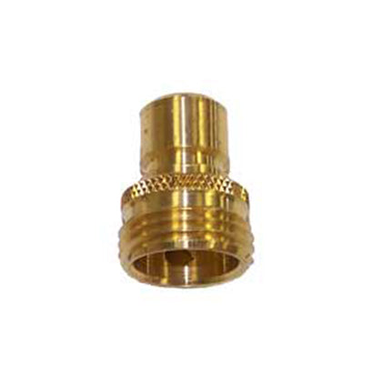 Male Brass Garden Hose Quick Connect - Factory Direct Hose