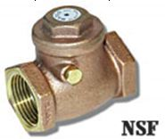 "3/8""Brass Swing Check Valve FPT 200WOG"