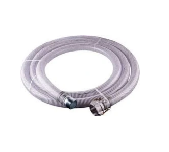 "4"" Suction Hose Assembly with Male pipe x Female CamLock  - 25 Ft"
