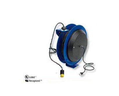 Single Receptacle Cord Reel - 50 ft - 12 AWG - Factory Direct Hose