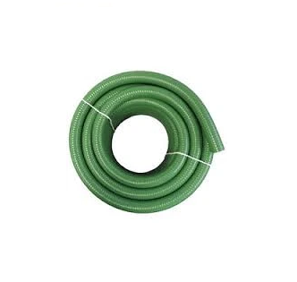 6 inch Green Suction Hose - 100 ft Roll