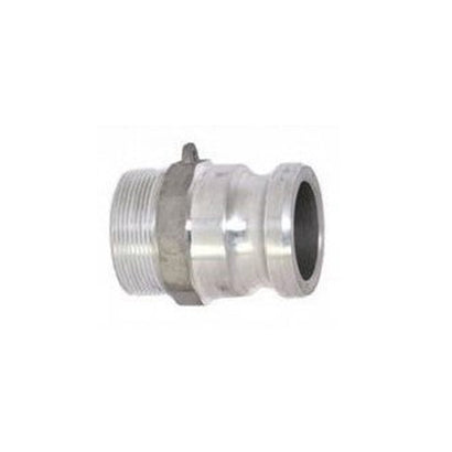 "6"" Male Camlock x 6"" Male Pipe (npt) Adapter - Aluminum - Factory Direct Hose"