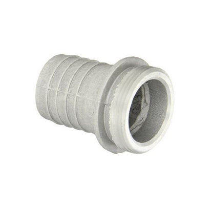 "Male 2 Inch Pipe Fitting x 2"" Hose Shank - NPSH"
