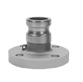 "2"" Male Camlock x Flange Adapter - 4 Hole"