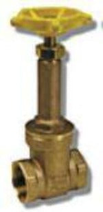 "2"" Brass Rising Stem Gate Valve - 300WOG 150WSP - Factory Direct Hose"