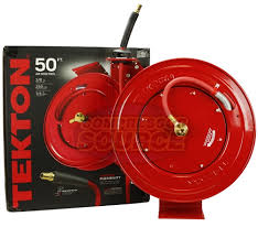 Tekton 1/2 x 50 ft - Single Arm Retractable Hose Reel - Air or Water