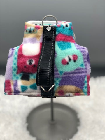 "NEW ""Long Board"" Multi Cats Fleece"
