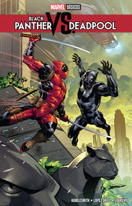Marvel Básicos - Black Panther vs. Deadpool