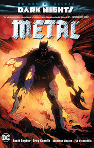 DC Comics Deluxe: Dark Nights: Metal PORTADA REGULAR