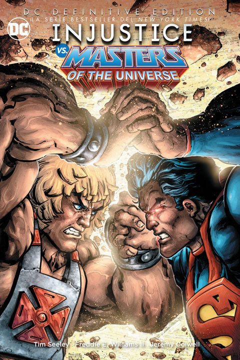 DC Definitive Edition – Injustice vs. Masters of The universe