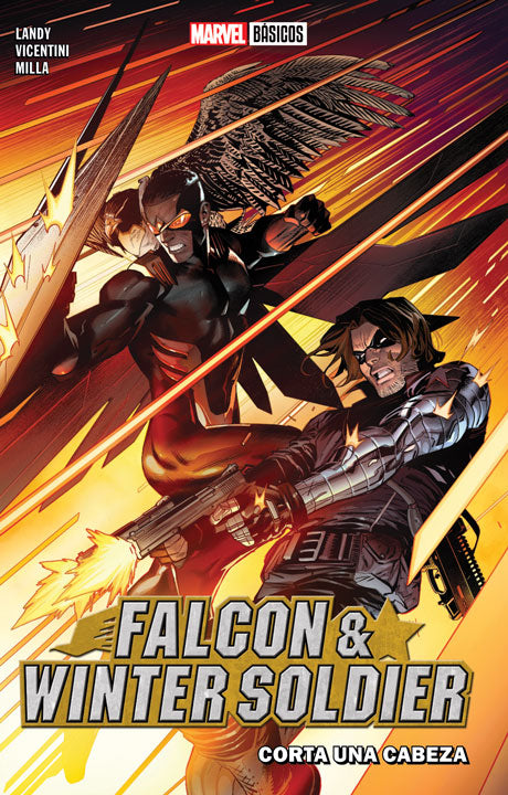Marvel Básicos – Falcon & Winter Soldier: Corta una cabeza