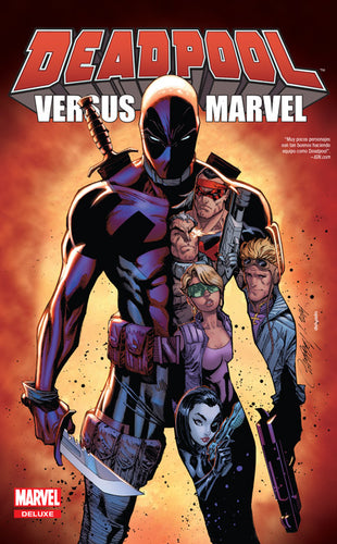 Marvel Deluxe: Deadpool versus Marvel