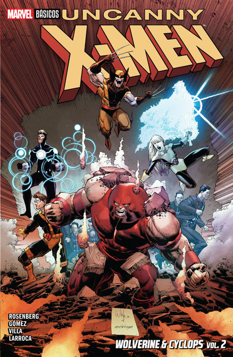 Marvel Básicos – Uncanny X-Men: Wolverine & Cyclops vol. 2