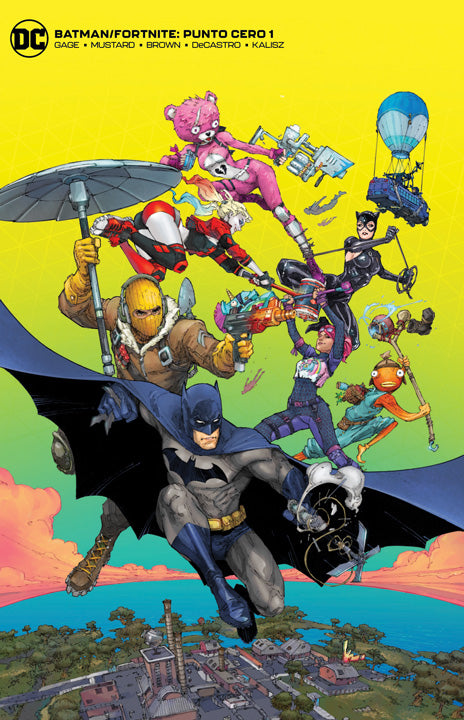 Batman/Fortnite: Punto Cero #1 - Portada Exclusiva Online (reimpresión)