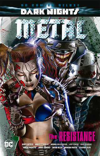 DC Comics Deluxe: Dark Nights Metal: The Resistance PORTADA VARIANTE