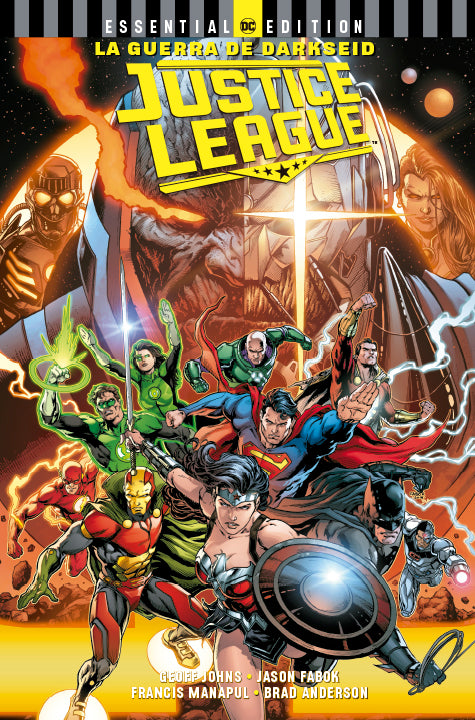 DC Essential Edition Justice League: La Guerra de Darkseid