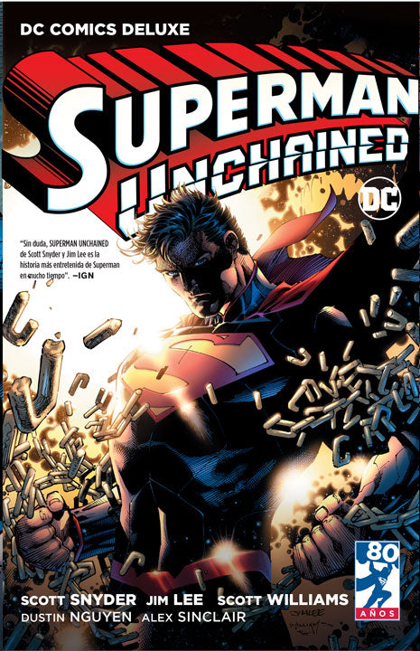 DC Comics Deluxe: Superman Unchained