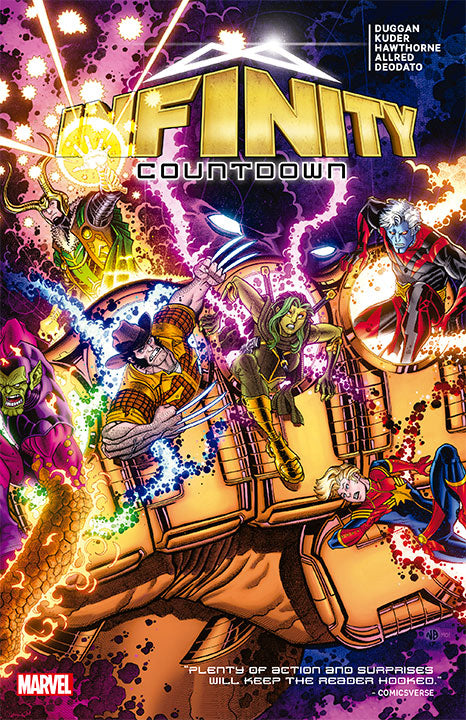 PREVENTA Marvel Monster Edition Infinity Countdown