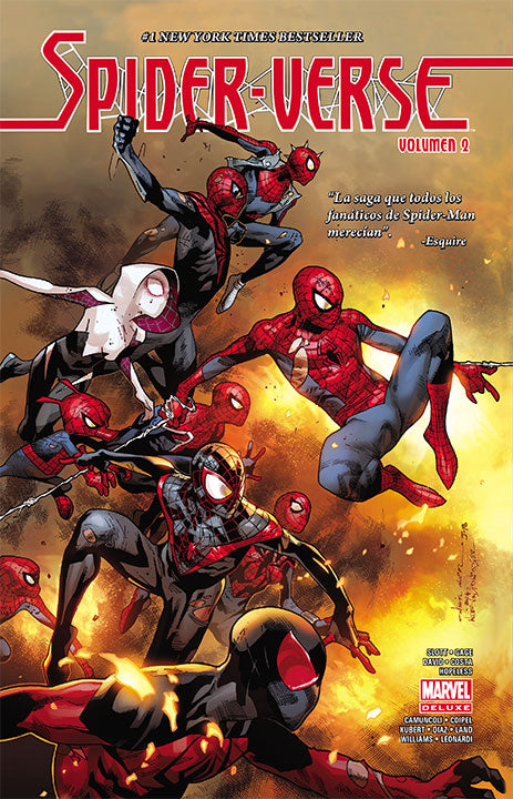 Marvel Deluxe Spider-Verse Vol. 2