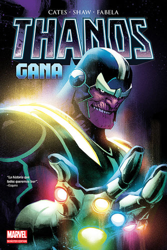 Marvel Monster Edition Thanos Gana