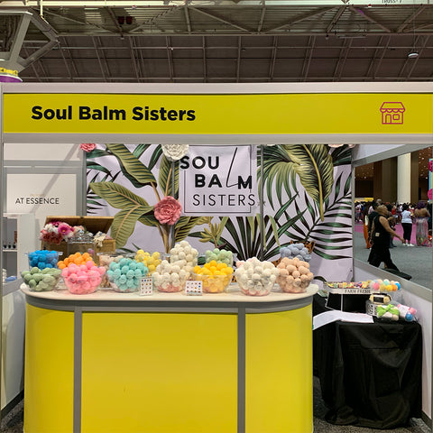 Booth 1140 at the 2019 Essence Festival