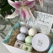 Load image into Gallery viewer, Relax at Home Spa Gift Set - Bath Bombs and Shower Steamers