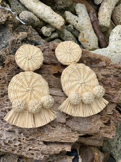 Ganesha Natural Earrings