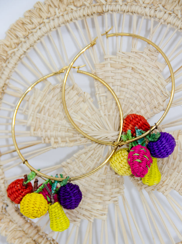 Tuti Fruity Hoop Earrings