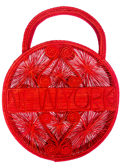 Garnet New York Palm Bag
