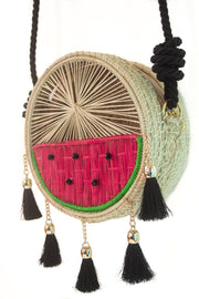 Watermelon Palm Summer Bag