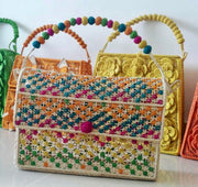 Beaded Prairie Patchwork Bag