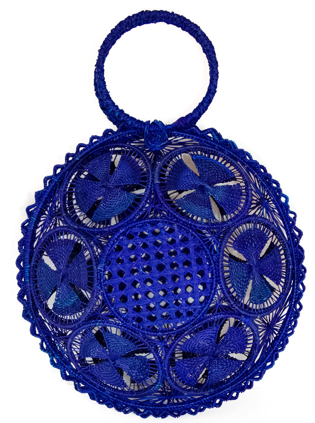 "Naturally Colored Handmade Panera Palm Handbag ""The Lauren"""