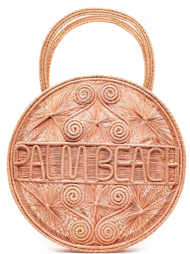 "Wanderlust Handbag | ""Palm Beach"""