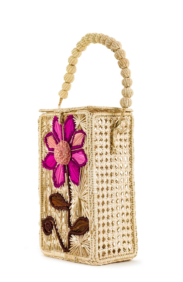 The Montauk Meadow Top Handle Bag