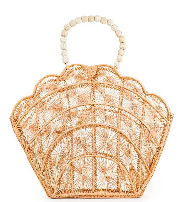 Woven Shell Tote